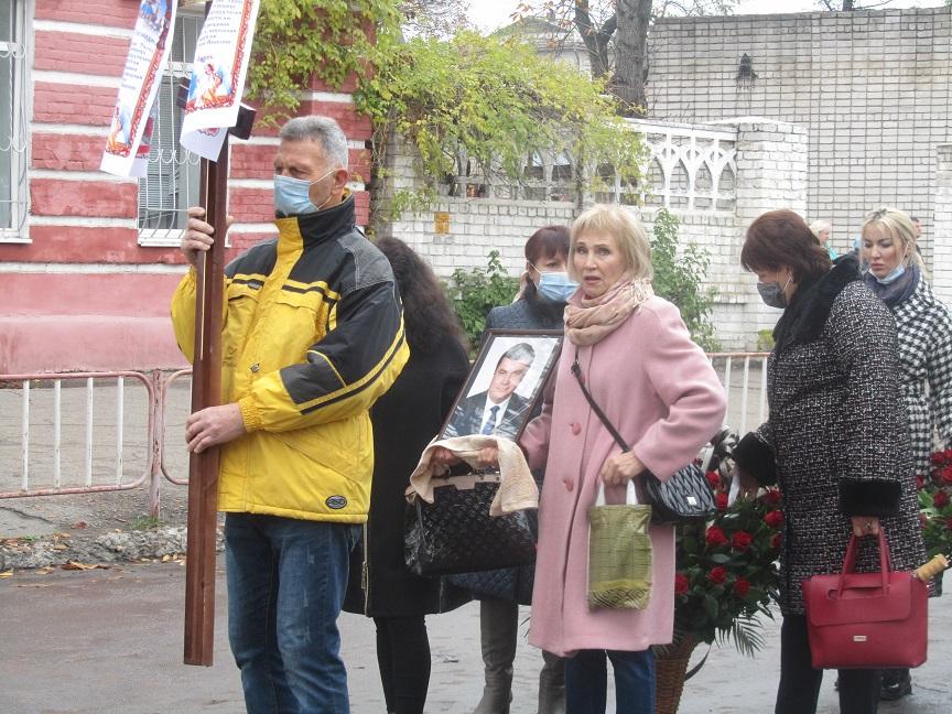 Павлоград перевернул еще одну страницу своей истории, попрощавшись с Иваном Метелицей