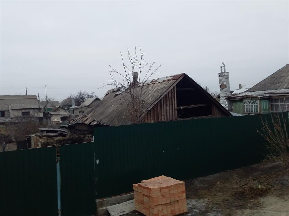 На ул. Деповской в Павлограде сгорел жилой дом