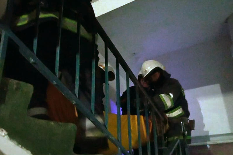 В Павлограде  горела квартира, -  в результате пожара, мужчина и женщина  попали в реанимацию