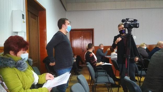Жители ул. Станкостроителей в Павлограде согласились со строительством автостоянки и нового магазина