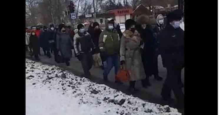 Городскому голове Павлограда протестующими предъявлен ультиматум
