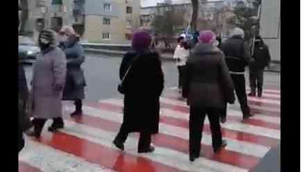 В Павлограде прошел «марш незрячих», которые многое видят