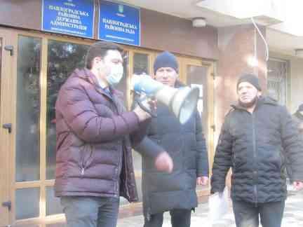 Шахтеры-регрессники Павлограда предложили эскпроприировать газовые сети, - Владимир Ленин на митинг не пришел