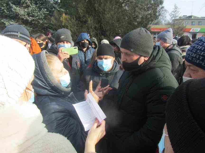 Терновчане требуют пояснить:  Почему власть не решает вопрос водоснабжения города с ДЗД и Павлоградуглем?