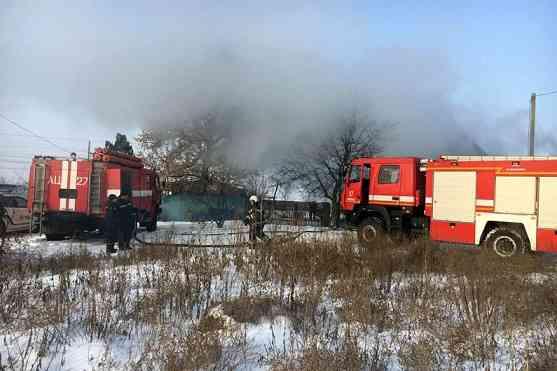 Во время пожара в Павлограде погиб годовалый ребенок