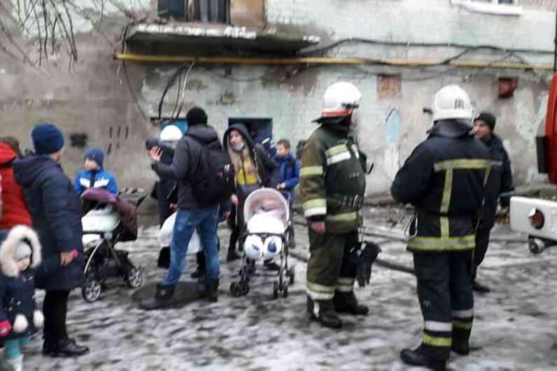При пожаре, в общежитии на ул. Заводской, пострадали три человека, - никто не погиб
