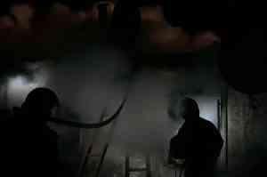 В с. Дмитровка во время пожара обнаружен обгоревший труп 44-летнего владельца дома