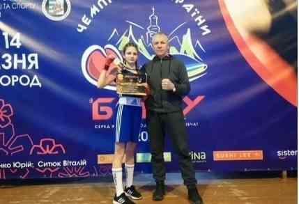 Таисия Покусай, из Першотравенска, стала чемпионкой Украины по боксу