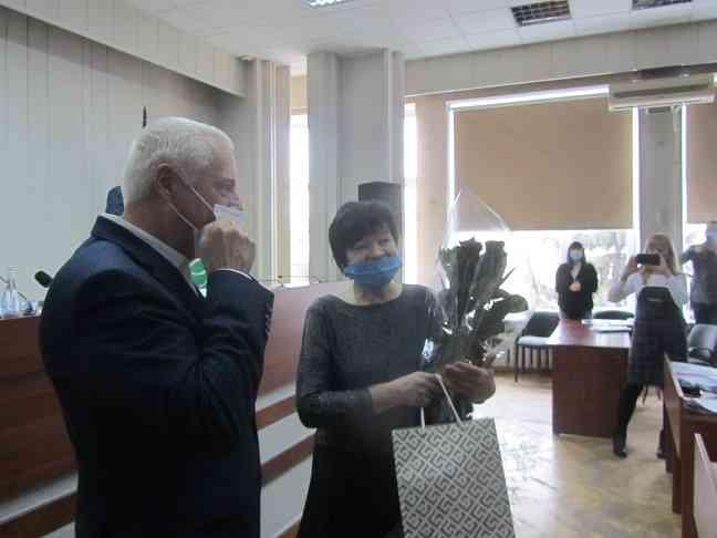 Начальник Управления соцзащиты населения Павлоградского горсовета Лидия Бобровницкая уходит на заслуженный отдых