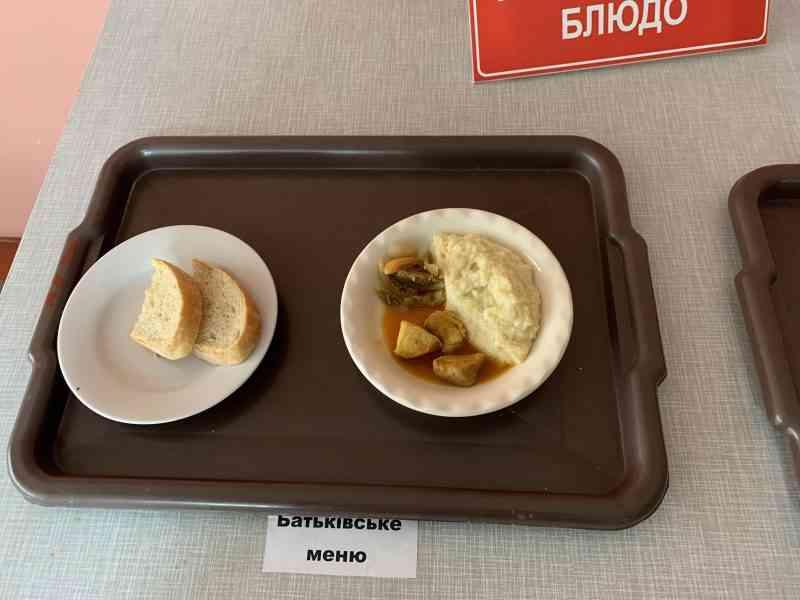 За обед родители школьников Павлограда платят в 10 раз  больше, чем в Терновке