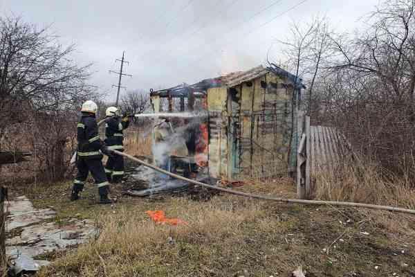 """Пожары в садовом обществе """"Химик"""" в Павлограде стали систематическими"""