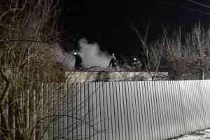 Огонь уничтожил крышу дома по ул. Менделеева в Павлограде