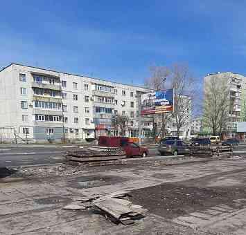 На поселке ПЗТО, в Павлограде, будто ветром сдуло хозяйственный рынок