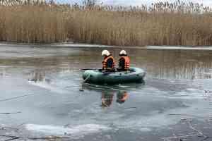 В Павлограде двое провалились под лед на реке Волчья: мужчину спасти не удалось