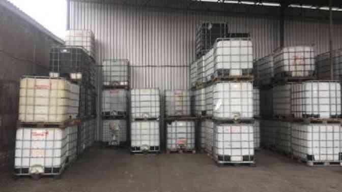 На Днепропетровщине выявлено предприятие, на котором для изготовления антисептика  использовали самогон