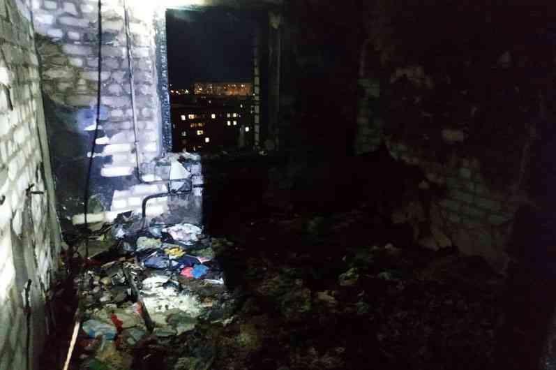 Стали известны подробности пожара в общежитии по ул. Промышленной в Павлограде