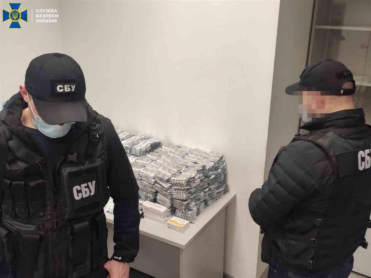 Сотрудники СБУ Днепропетровской области перекрыли контрабандный канал поставки прекурсоров