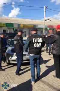 Сотрудники СБУ задержали полицейских Павлограда на месте преступления: они сбывали наркотики