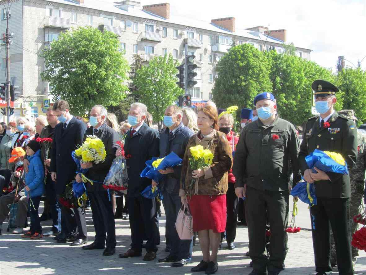 76-й День Победы в Павлограде встретили 16 ветеранов Второй мировой войны