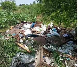 На берегу реки Волчьей, в Павлограде, разрастается еще одна городская свалка, - спасайся, кто может