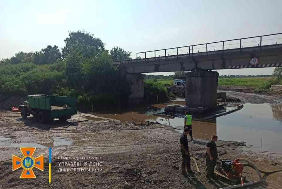 Советским мостостроителям объявлен выговор, за мост  которым более полувека пользовались жители Западного Донбасса