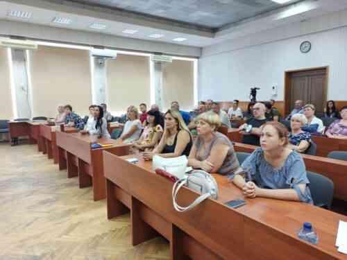 Оксана Горовая в четвертый раз избрана главой Павлоградского Общественного совета