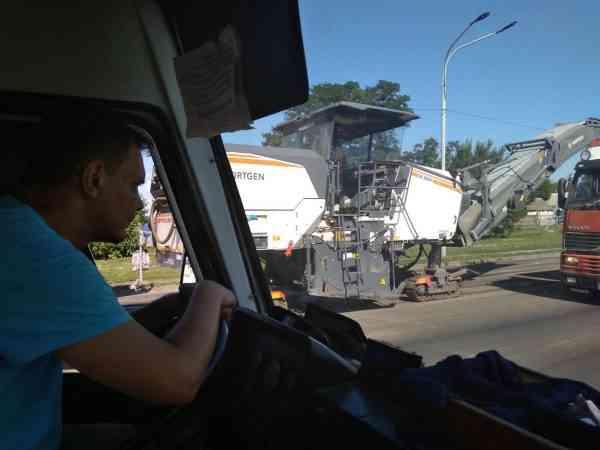 Жители Павлограда могут надеяться на то, что вдоль всей улицы Днепровской, наконец-то, появятся тротуары