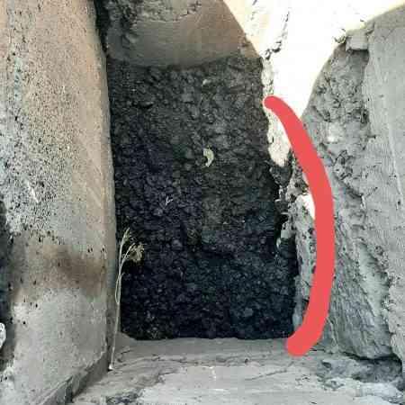 В Павлограде зачем-то асфальтируют ливневки, - неужели это «Большая стройка»?