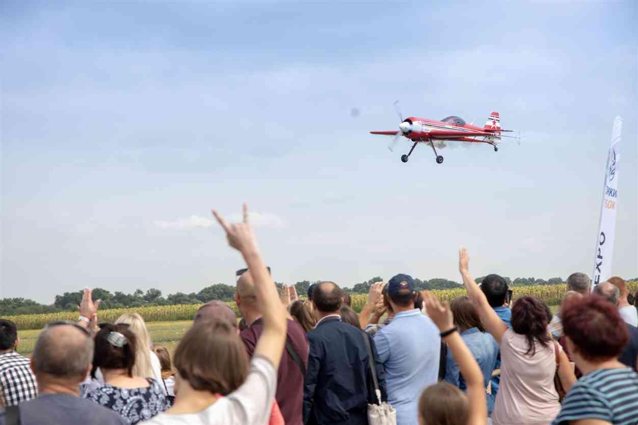 На Днепропетровщине 30-летие Независимости Украины стартовало фестивалем «Свободное небо»