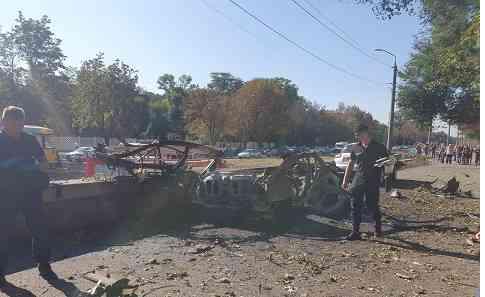 При взрыве автомобиля, в Днепре, погибла пресс-секретарь ГСЧС в Днепропетровской области Дарья Гречищева