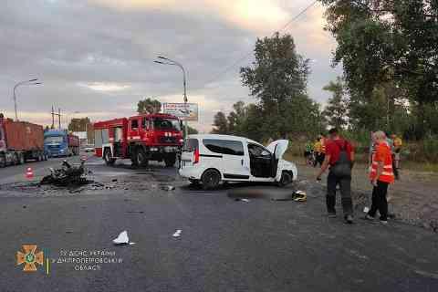 В Павлограде на обновляемой дороге погиб мотоциклист