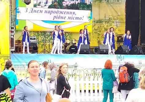 После праздника Павлоград проснулся абсолютно здоровым и жизнерадостным