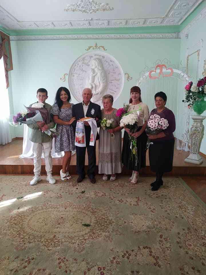 60 лет вместе: чета Стратьевых в Павлограде отметила бриллиантовую свадьбу