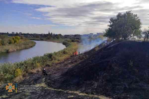 Пожалейте ежиков: 9 гектаров сухостоя сгорело за день в Павлоградском районе