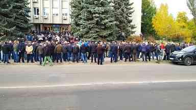 Шахтеры-регрессники Западного Донбасса напоминают правительству, что списывать их в утиль рановато